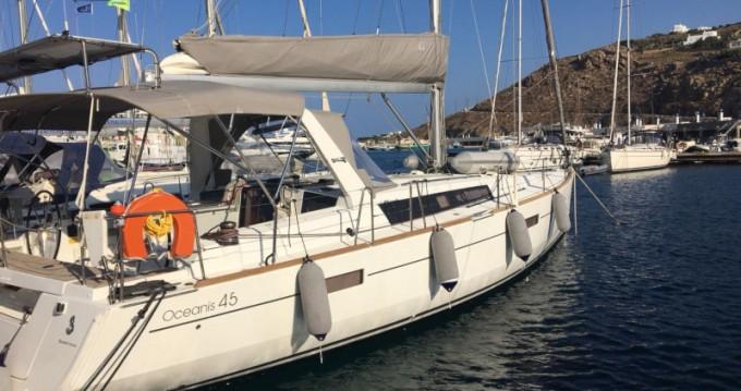 Location yacht à Mykonos (Île) - Bénéteau Oceanis 45 sur SamBoat