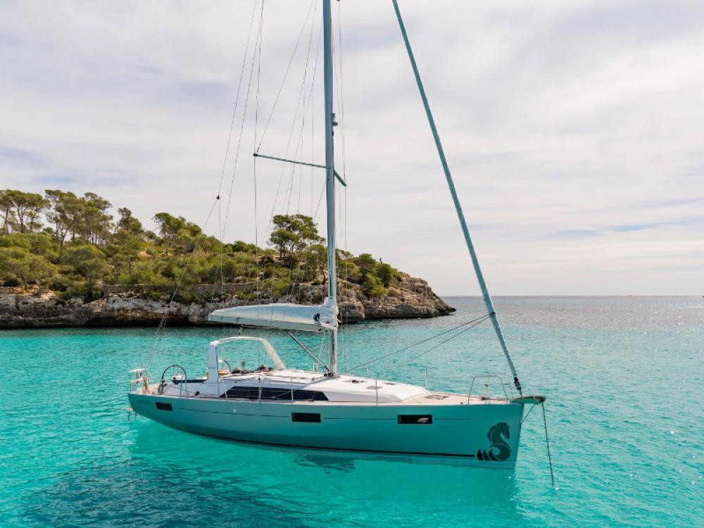 Location bateau Leucade pas cher Oceanis 411