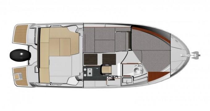 Location bateau Jeanneau Merry Fisher 795 à Trogir sur Samboat