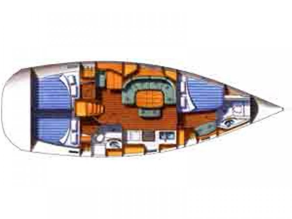 Location yacht à U Pàize/Carloforte - Bénéteau Oceanis 393 Clipper sur SamBoat