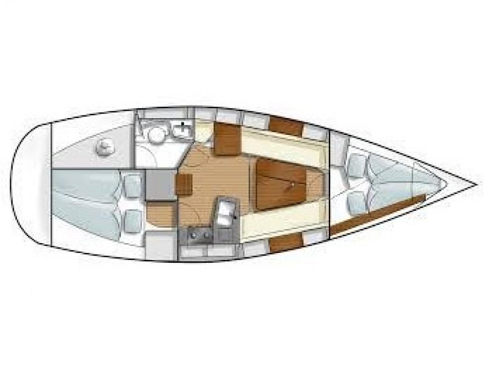 Location bateau Hanse Hanse 315 à U Pàize/Carloforte sur Samboat