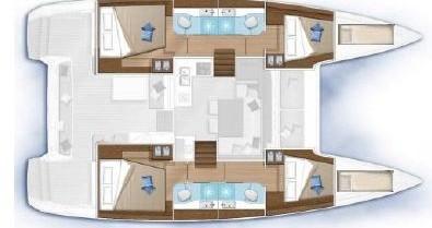 Louer Catamaran avec ou sans skipper Lagoon à Gouviá