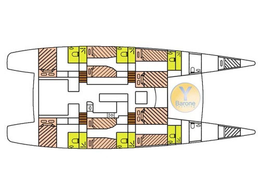 Location bateau Victoria pas cher Catlante 720 - incl. crew & full board