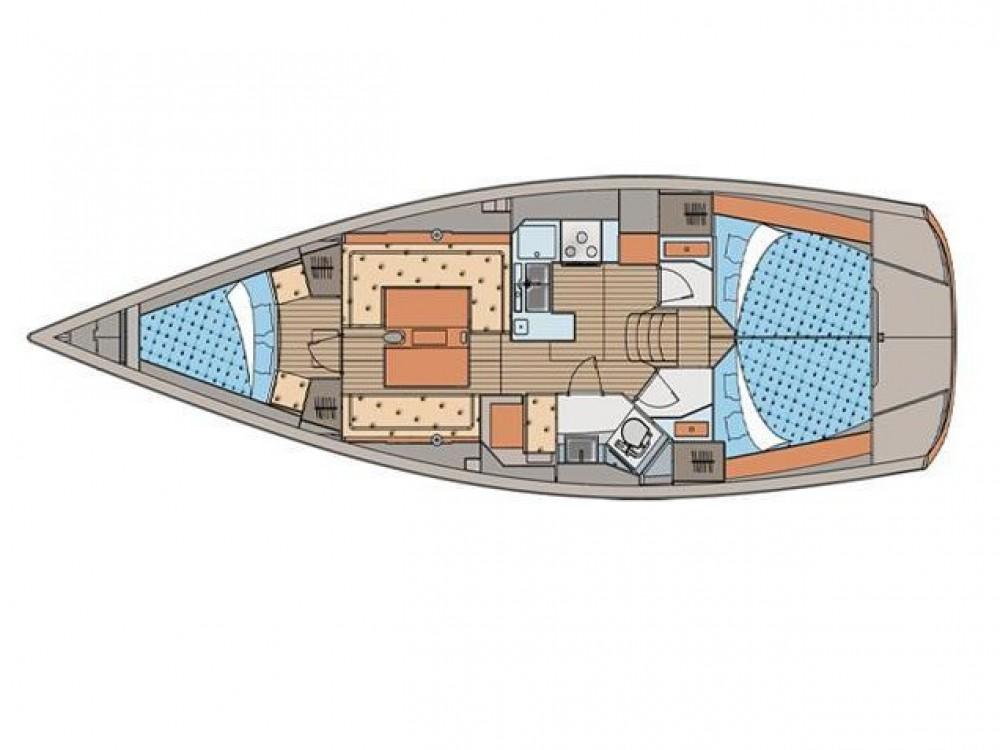 Location bateau ACI Marina Skradin pas cher Elan 410 Performance