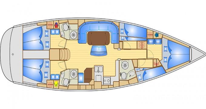 Location bateau Bavaria Bavaria 50 Cruiser à Bocca di Magra sur Samboat