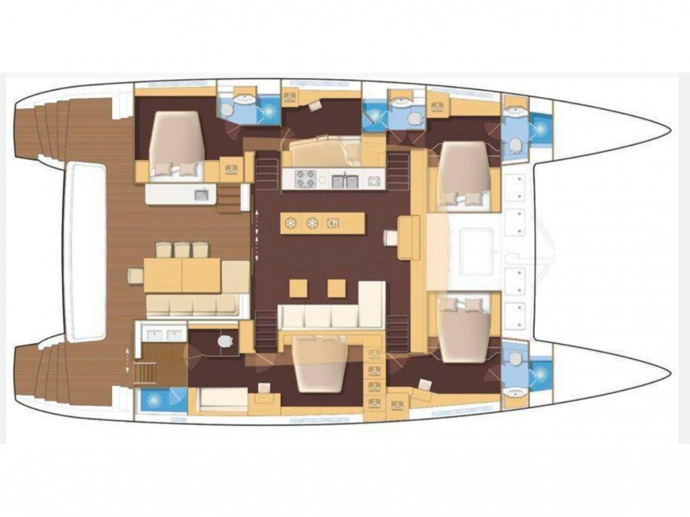 Location Catamaran à Preveza - Lagoon Lagoon 620