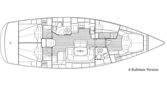 Location bateau Bavaria Bavaria 46 Cruiser à Zakynthos sur Samboat