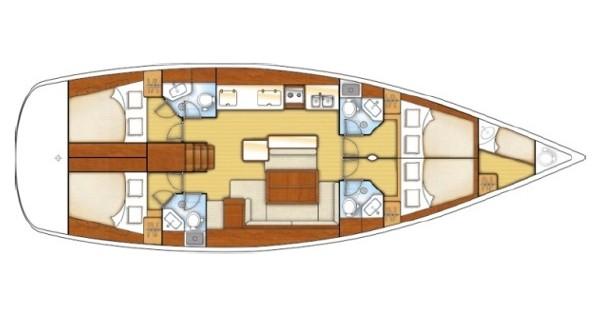 Location Voilier à Marmaris - Bénéteau Oceanis 50