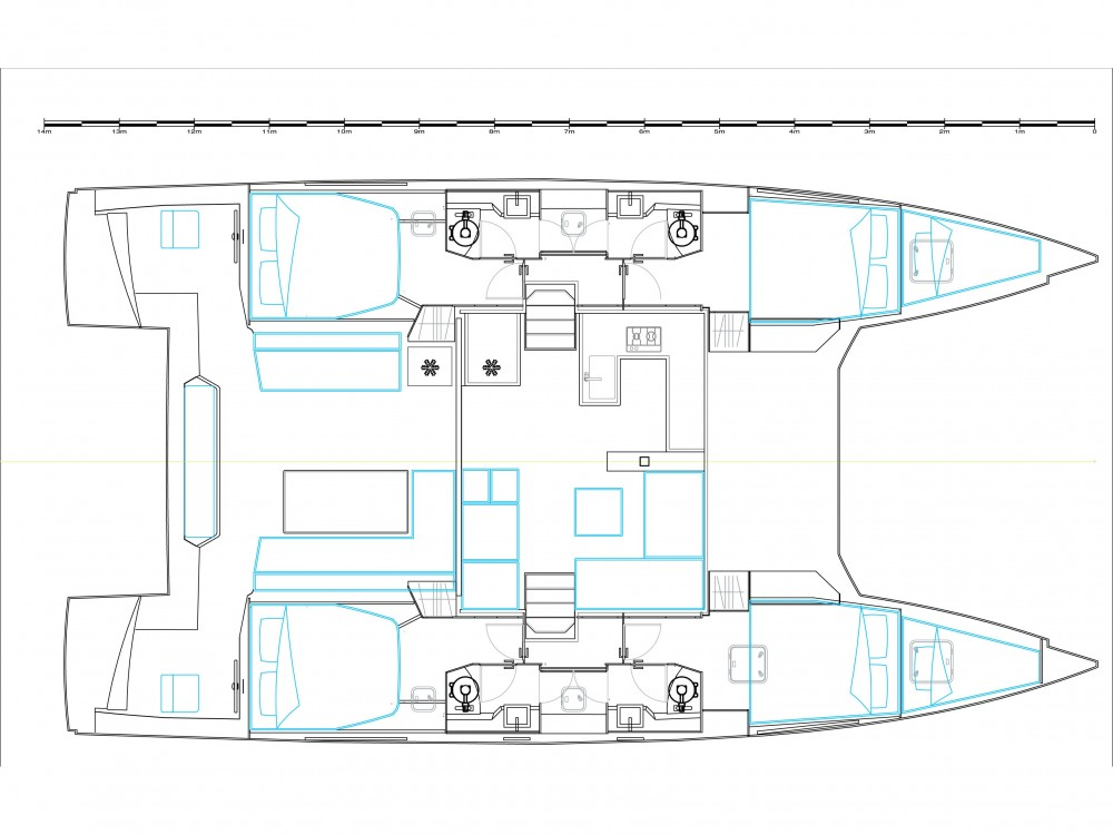 Location bateau Nautitech Nautitech 46 Fly à Préveza sur Samboat