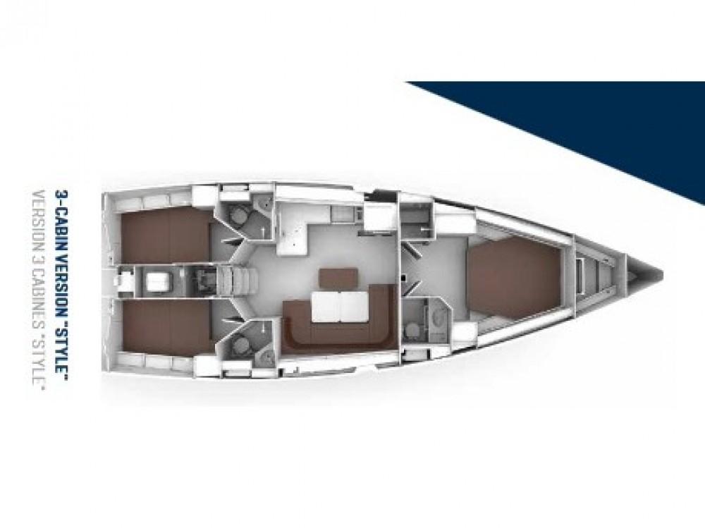 Bavaria Bavaria Cruiser 46 Style entre particuliers et professionnel à Kontokali