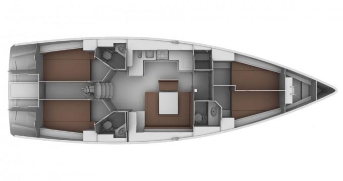 Location bateau Bavaria Cruiser 45 à Gouviá sur Samboat