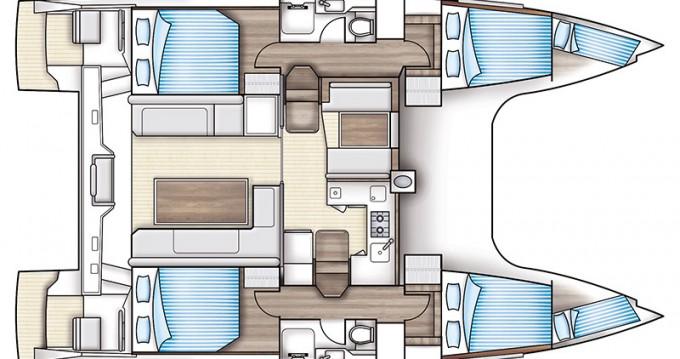 Location yacht à Préveza - Nautitech Nautitech Open 40 sur SamBoat