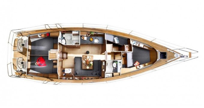 Location yacht à Gouviá - Bavaria Bavaria 47 Cruiser sur SamBoat