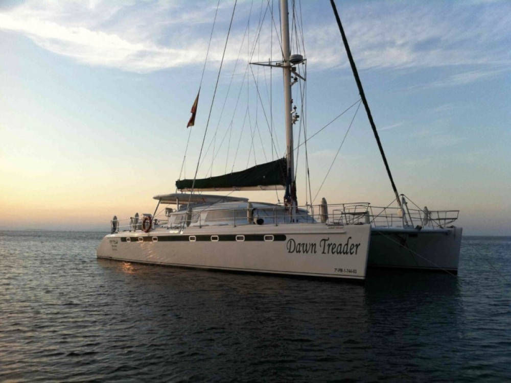 Location Catamaran à Sant Antoni de Portmany - Fountaine Pajot Marquises 56