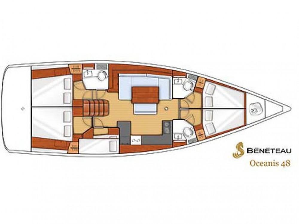 Location bateau Bénéteau Oceanis 48 à Kaštel Gomilica sur Samboat