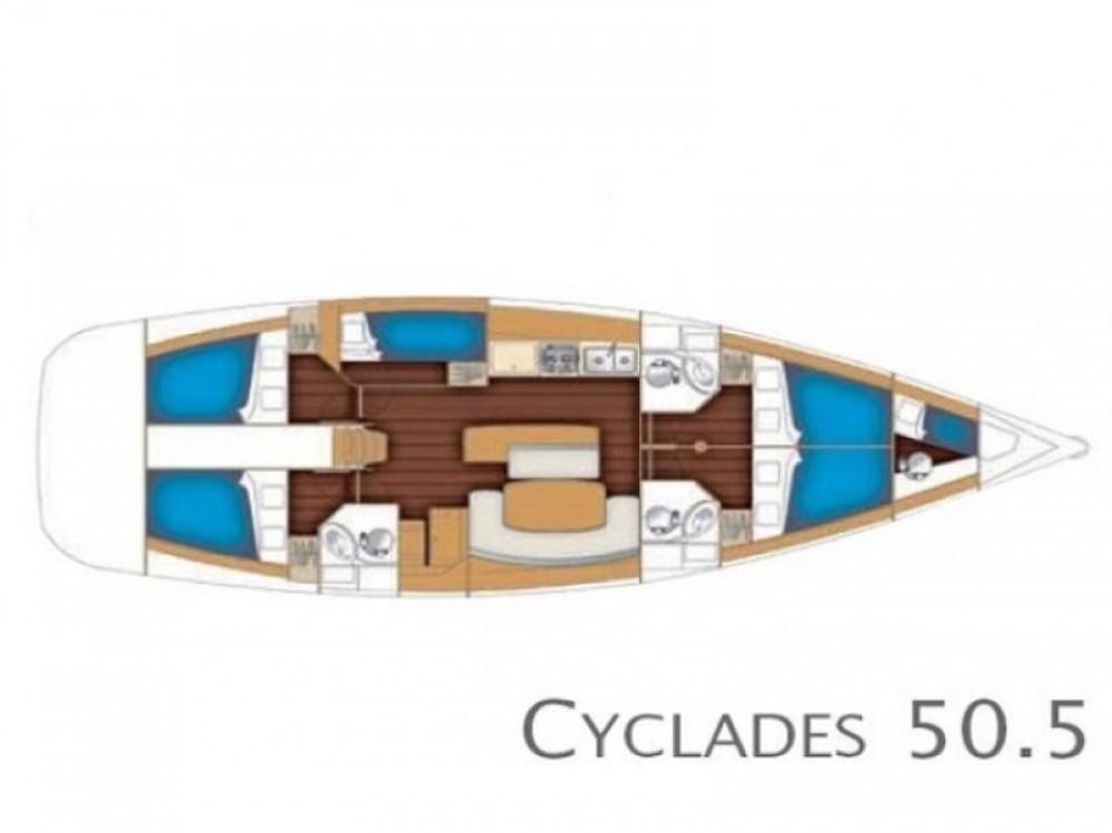 Louez un Bénéteau Cyclades 50.5 à Marina de Alimos