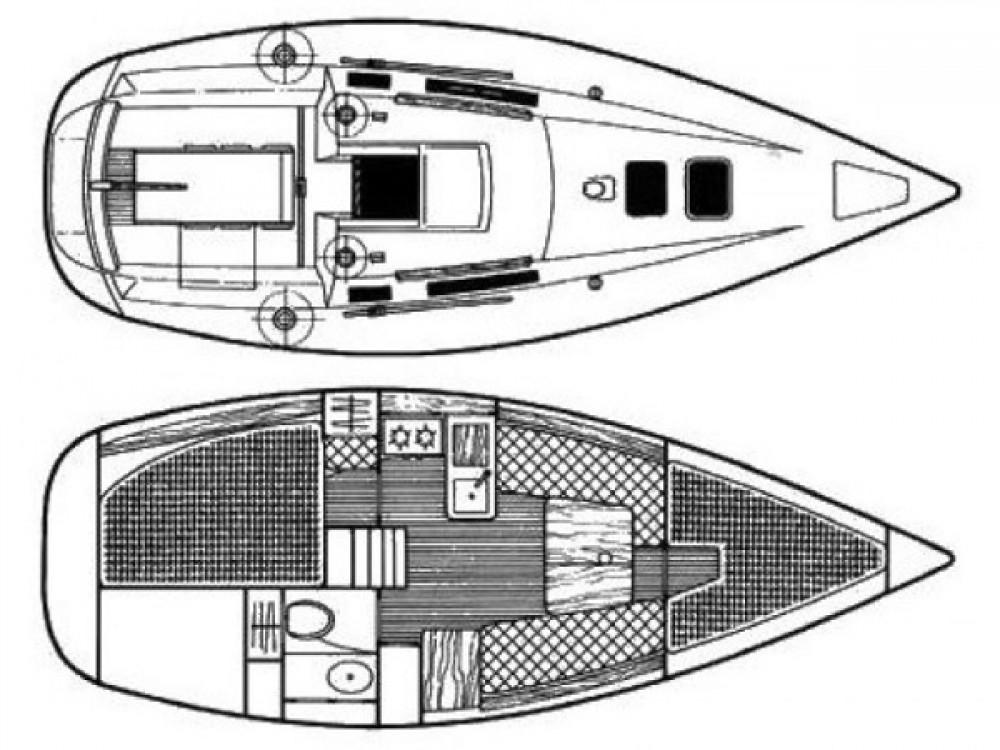 Location bateau  pas cher Beneteau 285