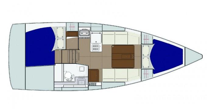 Location bateau Yerseke pas cher Dufour 310 Grand Large