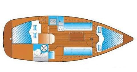 Location Voilier à Yerseke - Bavaria Bavaria 30 Cruiser
