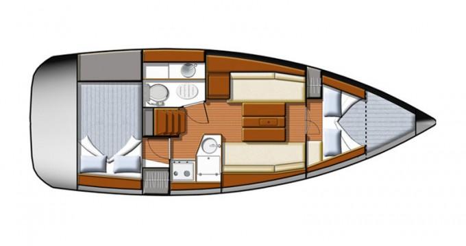 Location bateau Jeanneau Sun Odyssey 30 i à Yerseke sur Samboat