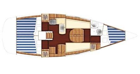 Location bateau Bénéteau First 36.7 à Yerseke sur Samboat