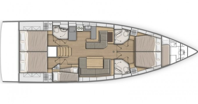 Location bateau Álimos pas cher Oceanis 51.1