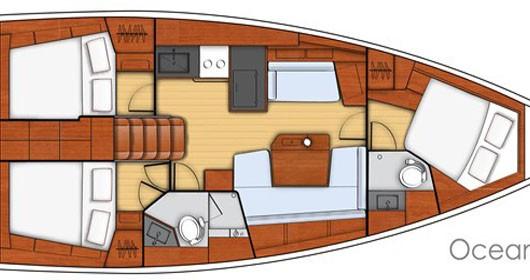 Location bateau Álimos pas cher Oceanis 41.1