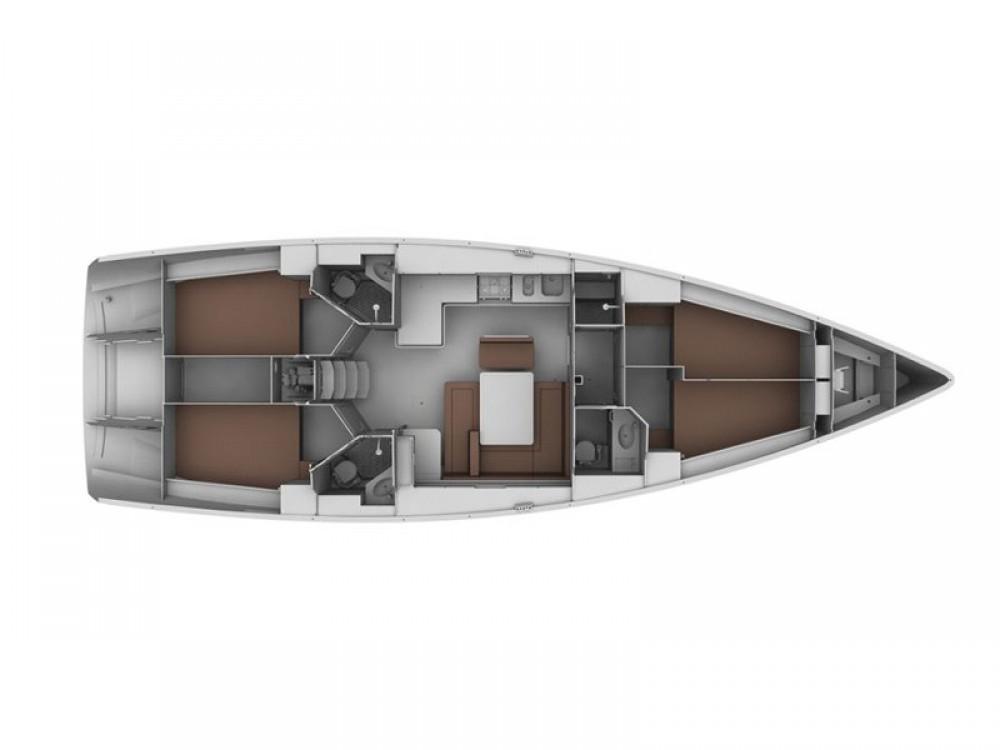 Location yacht à Leucade - Bavaria Bavaria 45 Cruiser sur SamBoat