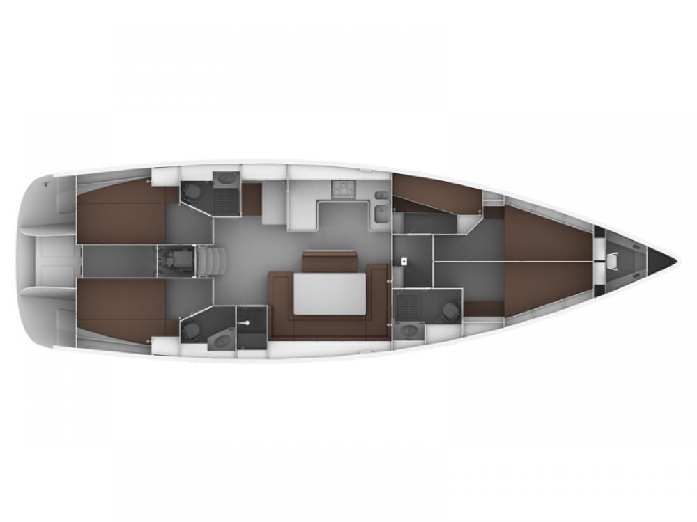 Location bateau Bavaria Bavaria Cruiser 50 à Follonica sur Samboat