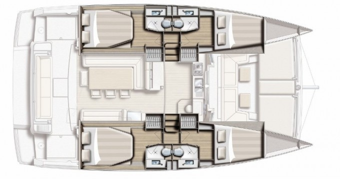 Louez un Bali Catamarans Bali 4.1 à Cannigione