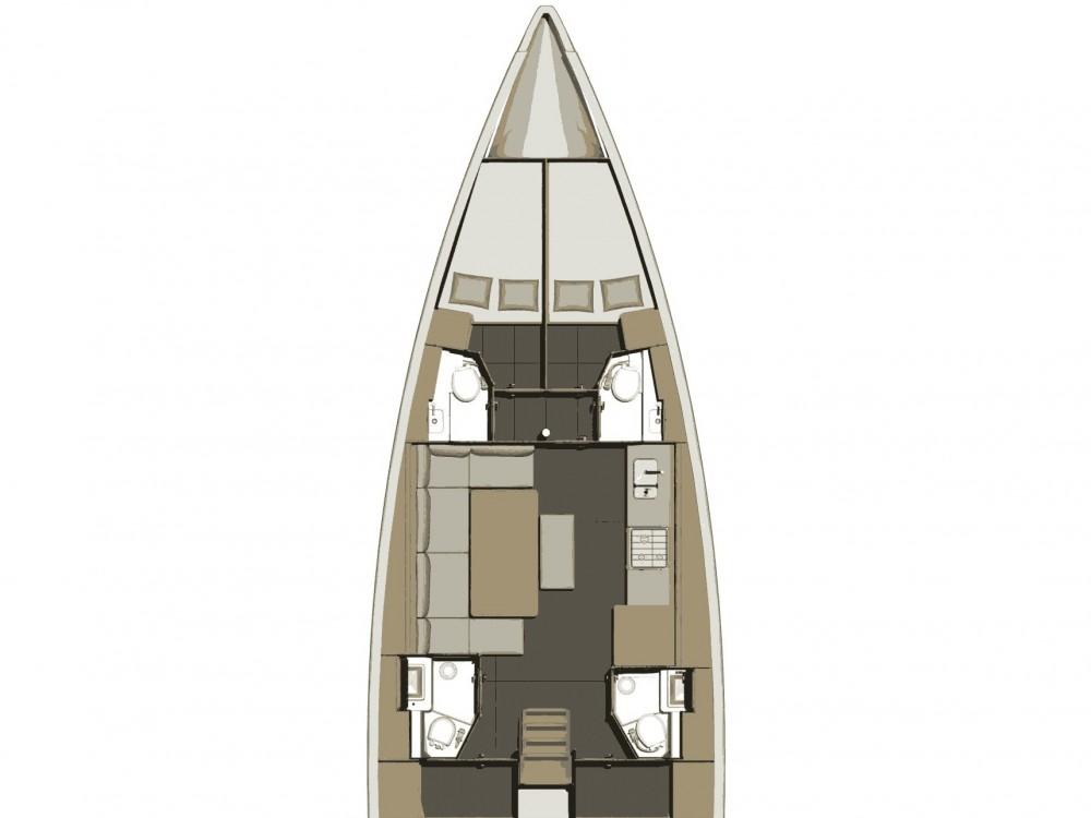 Location bateau Dufour Dufour 460 GL à Follonica sur Samboat