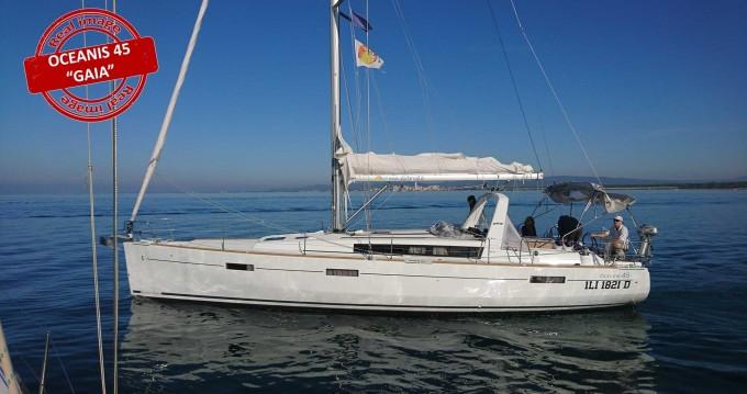 Location bateau Bénéteau Oceanis 45 à Follonica sur Samboat