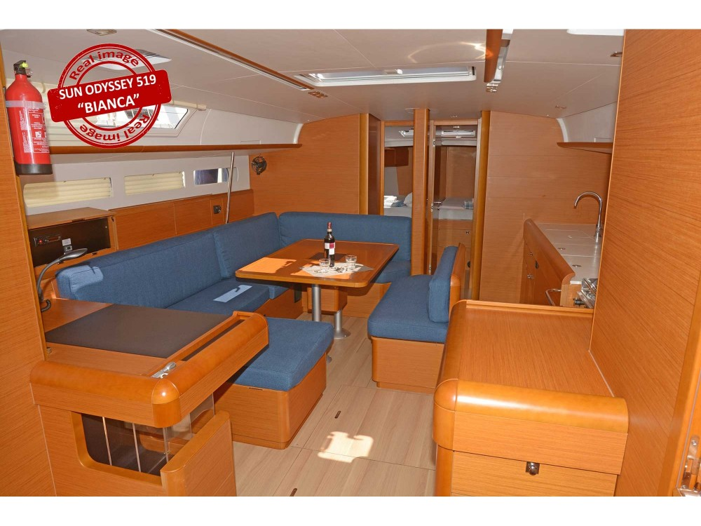 Jeanneau Sun Odyssey 519 entre particuliers et professionnel à Follonica