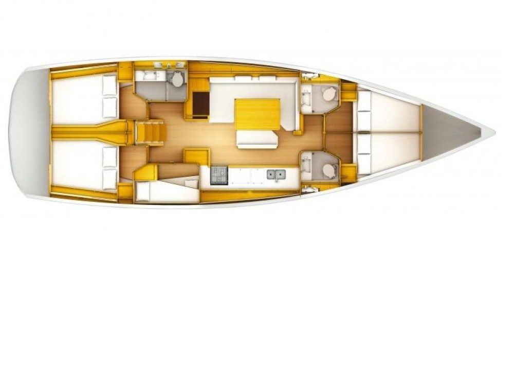 Location bateau Follonica pas cher Sun Odyssey 519