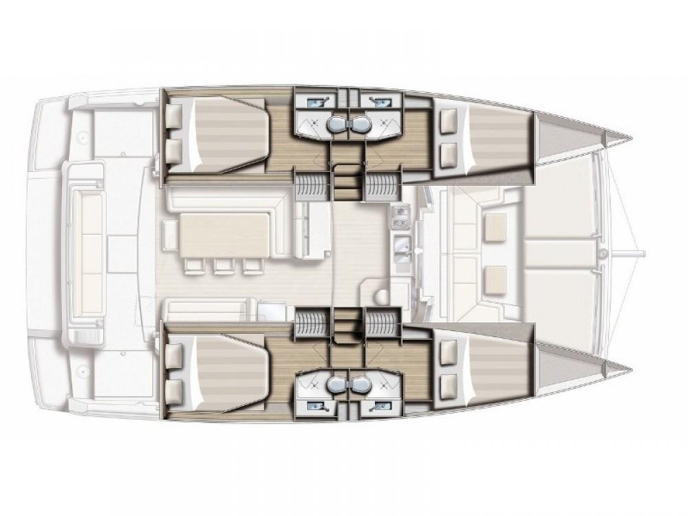 Louer Catamaran avec ou sans skipper Bali à Alzachèna/Arzachena