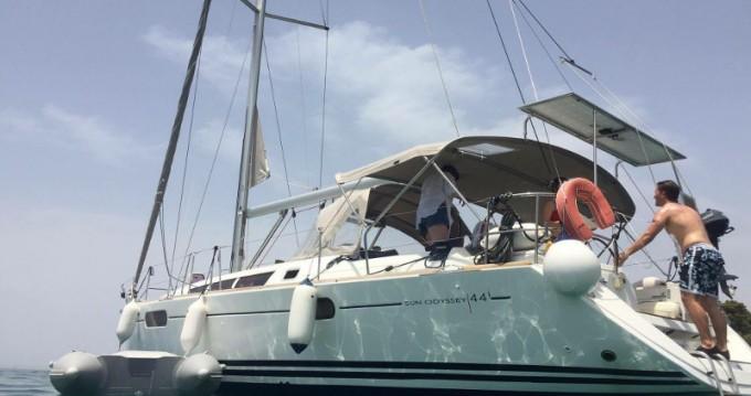 Location bateau Lefkada (Île) pas cher Jeanneau Sun Odyssey 44i
