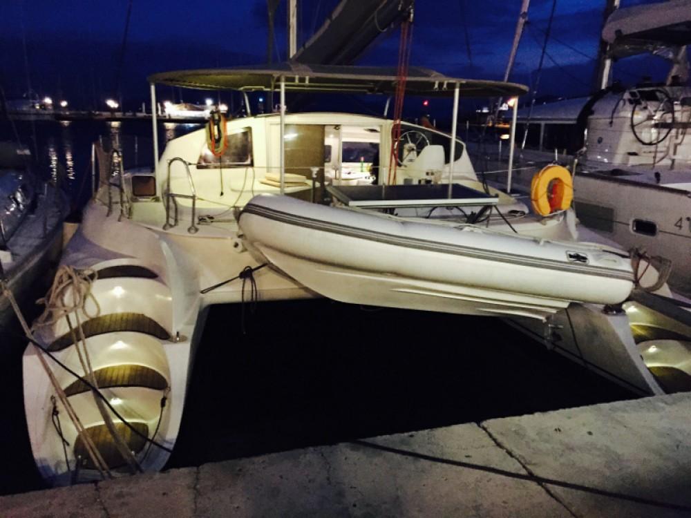 Location yacht à Leucade - Fountaine Pajot Athena 38 sur SamBoat