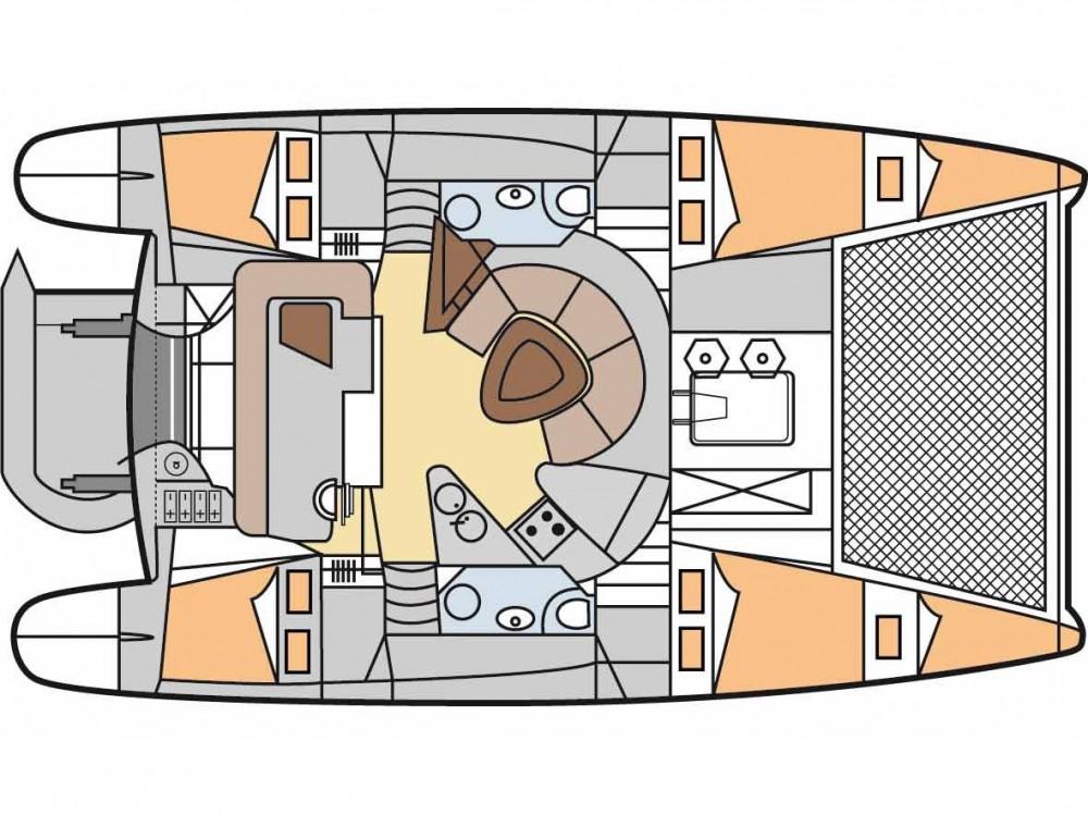 Louer Catamaran avec ou sans skipper Fountaine Pajot à Leucade