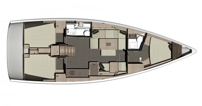 Location bateau Dufour Dufour 412 Grand Large à Bodrum sur Samboat