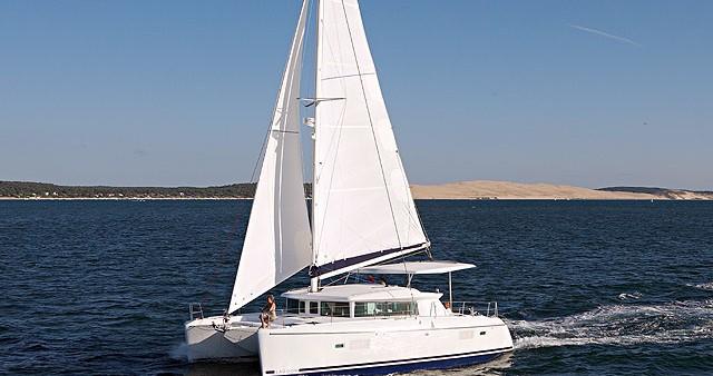 Location bateau Orhaniye pas cher Lagoon 420