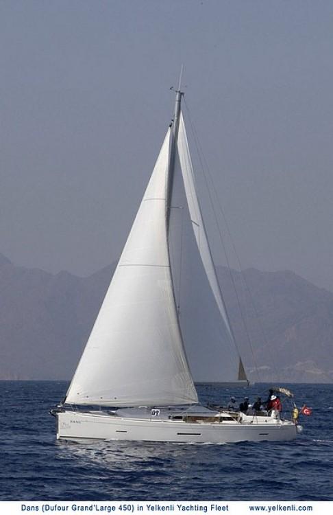 Location bateau Bodrum pas cher Dufour 450 GL