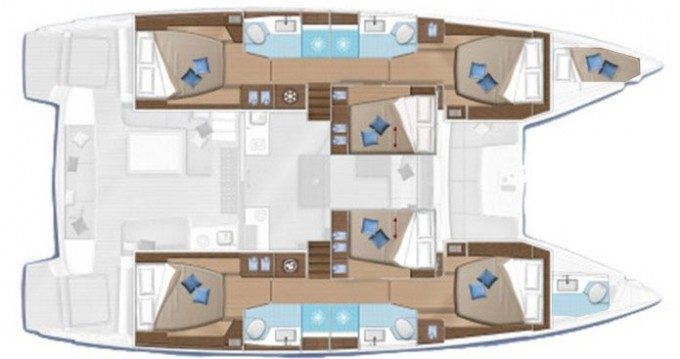 Louer Catamaran avec ou sans skipper Lagoon à Dubrovnik