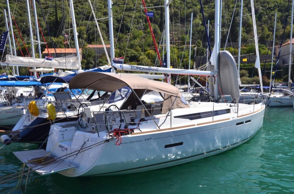 Location bateau Jeanneau Sun Odyssey 449 à Komolac sur Samboat