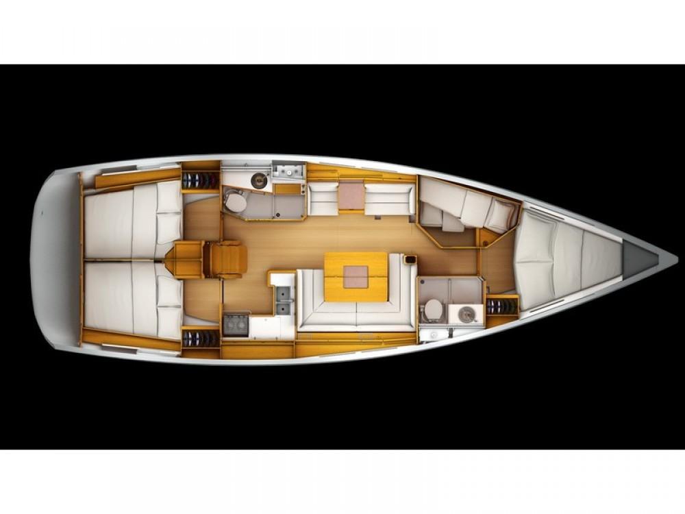 Location bateau Split pas cher Sun Odyssey 439