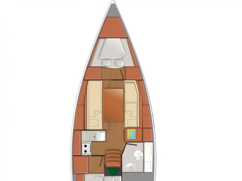 Location bateau Grad Pula pas cher Sun Odyssey 319