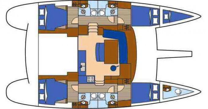 Location Catamaran à Trogir - Lagoon Lagoon 440
