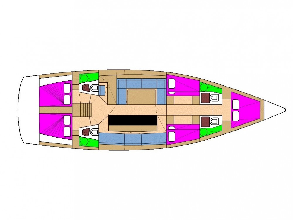 Location bateau  pas cher D&D Kufner 54.2