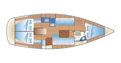 Location bateau Biograd na Moru pas cher Bavaria 38 Cruiser