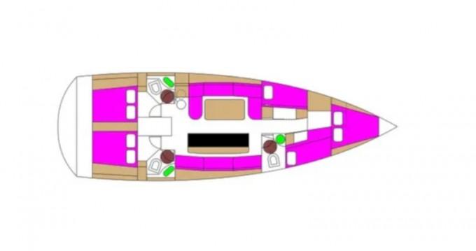 Location yacht à Biograd na Moru - D&D Yacht D&D Kufner 50 sur SamBoat