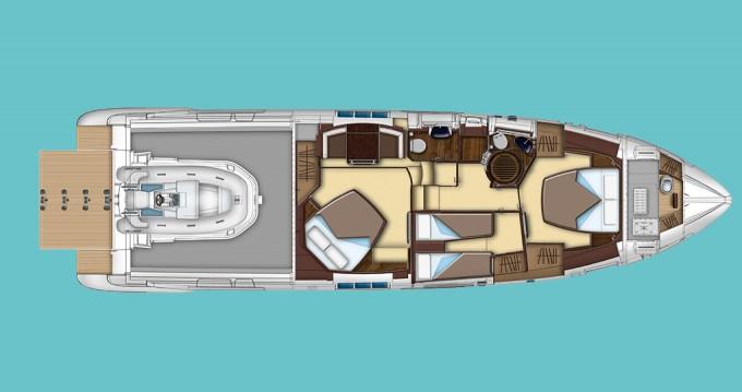 Location bateau Sibenik pas cher Azimut 55 S